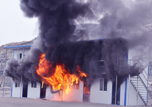 Why polyurethane products fail in the building material flammability tests?