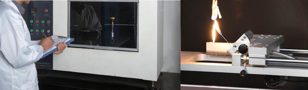 Needle flame tester, Needle flame firing hazard chamber, IEC 60695 test apparatus