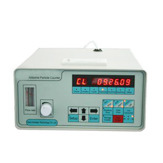 Gelbo Flex Tester with Particle Counter