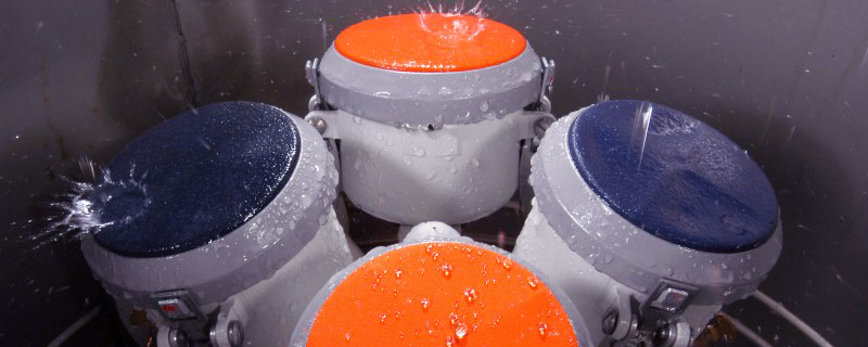 Water-repellent testing