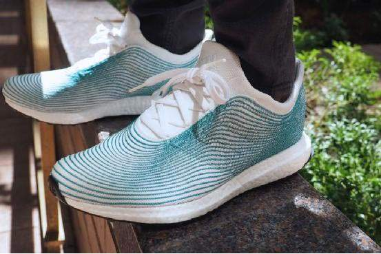 Adidas Promises for One Million Pairs UltraBoost Shoes Made of Recycled Marine waste Plastic