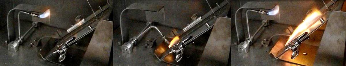 """45° flammability tester, Textile flammability tester, CFR 16 Part 1610 test device,ASTM D1230 test apparatus"