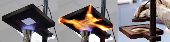 HTI heat transmission tester, EN 367