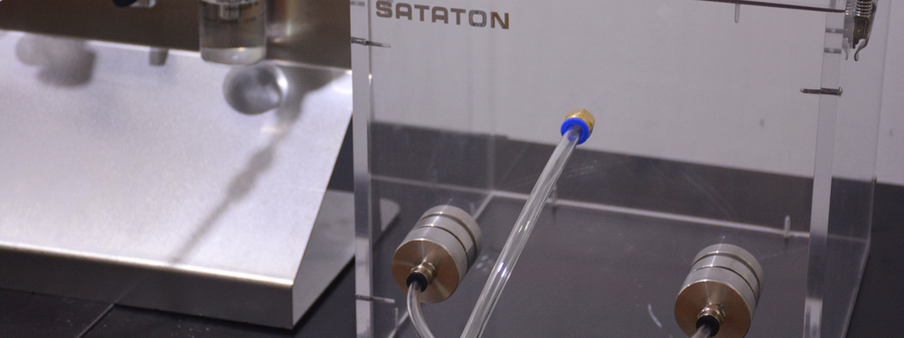 biologically contaminated aerosols penetration tester