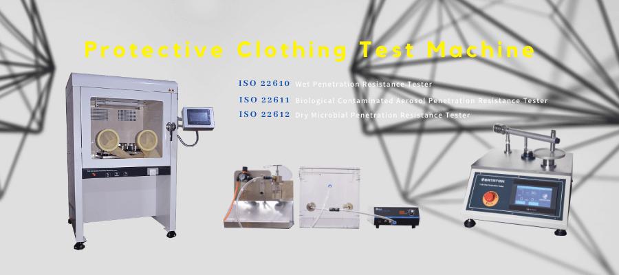 ISO 22610/ISO 22611/ISO 22612 testing equipments